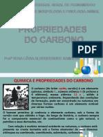 Bioquímica Molecular - Aula 01 - Propiedades do Carbono