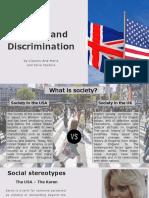 Society and Discrimination