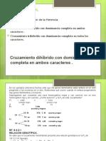 GENÉTICA ANIMAL. Clase 7_cruzamiento dihibrido_trihibrido