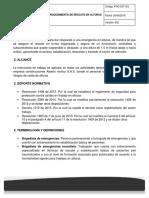 PRO-SST-001 PROCEDIMIENTO DE RESCATE EN ALTURAS - V2
