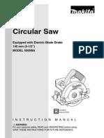 Circular Saw Manual Makita