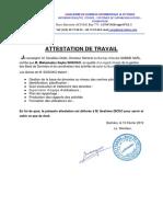 Attestation de formation_SABINE_SARL_