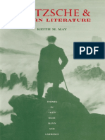 MAY, Keith. Nietzsche and Modern Literature_ Themes in Yeats, Rilke, Mann and Lawrence
