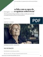 """A mulher que lida com os egos do Barça_ """"Só os egoístas sobrevivem"""" _ EL PAÍS Semanal _ EL PAÍS Brasil"""