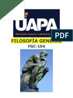 FGC-104 UNIDAD II. ESTUDIO DE LA FILOSOFÍA