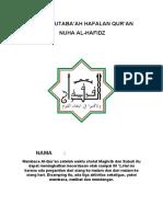 BUKU MUTABA'AH NUHA AL-HAFIDZ.docx