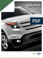 2011 Ford Explorer Brochure