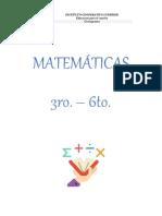 CRONOGRAMAS - TERCER PERÍODO - MATEMÁTICAS (3ro. - 6to.) - FÍSICA (9° - 10° - 11°) (1)
