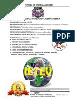 APOSTILA DE EPÍSTOLAS GERAIS DO IETEV 2012.1