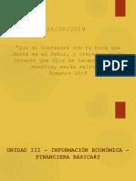 Unidad III - Información Económica - Financiera Básica#2