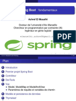Cours Spring Boot Fondamentaux