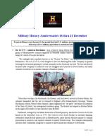Military History Anniversaries 1216 Thru 123120