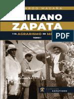 Emiliano Zapata agrarismo TOMO I