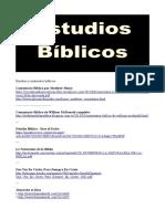 Estudios y materiales biblicos