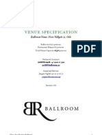 Venue.Specification.Ballroom