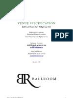 Venue.Specification.Ballroom