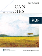 2010-2011 African Studies Catalogue