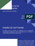 Diseño - Codificación y pruebas