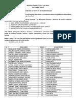 PROGRAMA CEREMONIA DE GRADO 2018