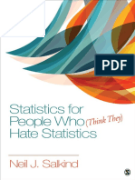 Statistics for People Who (Think They) Hate Statistics 6th Edition ( PDFDrive )