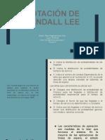 Notación de Kendall Lee