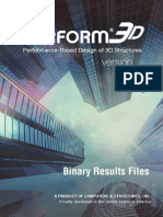Perform3D Binary Results Files