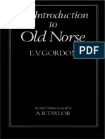 An Introduction to Old Norse - E.V. Gordon