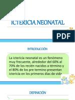 ictericianeonatal