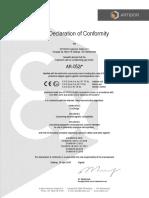 AR-052 EU Declaration of Conformity 04-2020 (1)