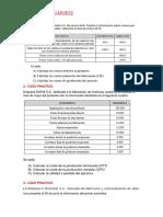 TAREA DE SEMINARIO DE COSTOS Y PRESUPUESTOS.