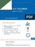 PPT 11_EL VALOR