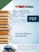 DAVID SEGURA ZANABRIA DERECHO ADUANERO INTER- 1ER TRABAJO-FILIAL CUSCO