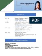HOJA DE VIDA 2020 FLORES LISETTE OK