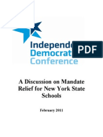 IDC School Mandate Relief Report