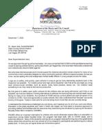 North Las Vegas Mayor Lee letter to CCSD Superintendent Jara