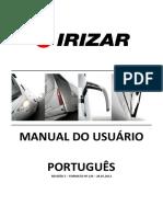 Formato 124 - Manual do Usuário Century em português