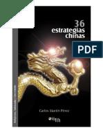 36 estrategias chinas - Carlos Martín