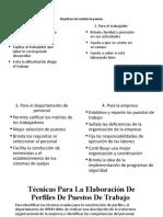 Beneficios del análisis de puestos- Técnicas_ PPT
