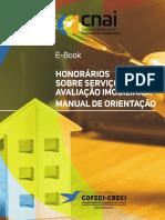 Honorários sobre serviços de avaliação imobiliária - Manual de orientação