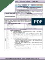 Noviembre - 1er Grado Educación Física (2020-2021)