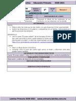 Noviembre - 1er Grado Educación Socioemocional (2020-2021)