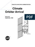 Mars Climate Orbiter Arrival Presskit