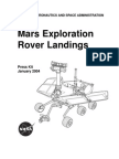 Mars Exploration Rover Landings Press Kit