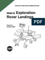 Mars Exploration Rover Landings Press Kit