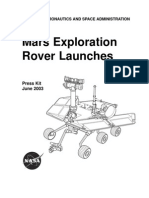 Mars Exploration Rover Launches Press Kit