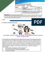 DESARROLLO PERSONAL CIUDADANÍA Y CÍVICA 05 II SEMESTRE