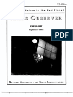 Mars Observer Press Kit