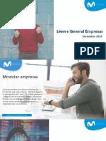 Léeme General Empresas del 1 al 15 de Diciembre de 2020