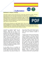 Mars Science Laboratory Radiological Contingancy Planning