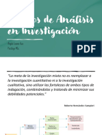 2. Métodos de Análisis en Investigación